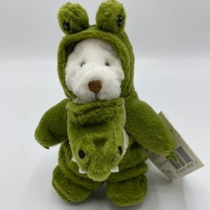 Ganz Wee Bear Village DUNDEE ALLIGATOR With Tag